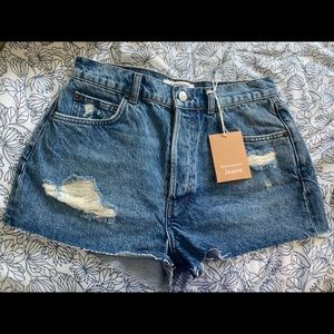 Reformation Jean Shorts